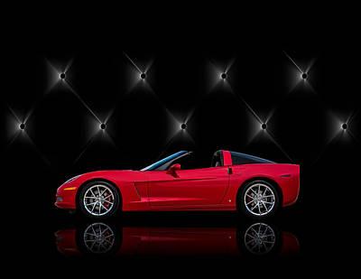 Red Chevy Digital Art - Tuff Enough by Douglas Pittman