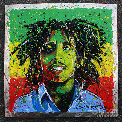 Painting - Tuff Gong by Chris Mackie