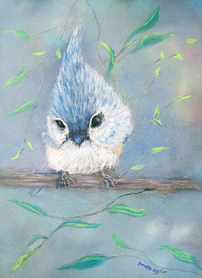 Painting - Tufted Titmouse by Loretta Luglio
