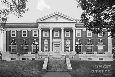 Tufts University Eaton Hall Art Print by University Icons