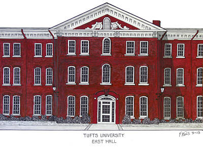 Mixed Media - Tufts University by Frederic Kohli