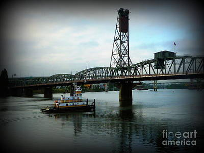 Photograph - Tugboat Chug by Susan Garren