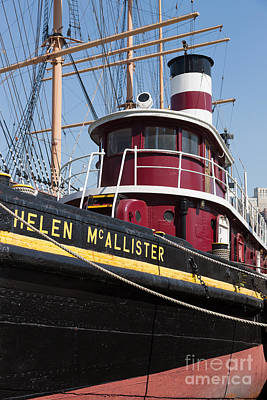 Photograph - Tugboat Helen Mcallister by Clarence Holmes