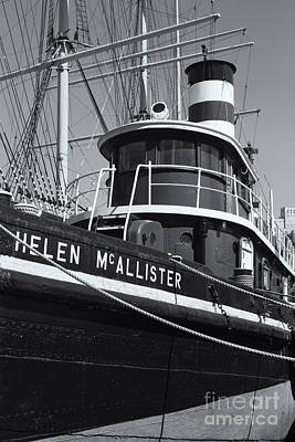 Tugboat Helen Mcallister II Print by Clarence Holmes