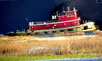 Rebecca West Photograph - Tugboat I by Rebecca West