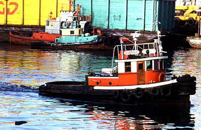 Photograph - Tugboat Territory by Robert  Rodvik