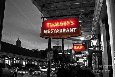 Pellegrin Photograph - Tujague's by Scott Pellegrin