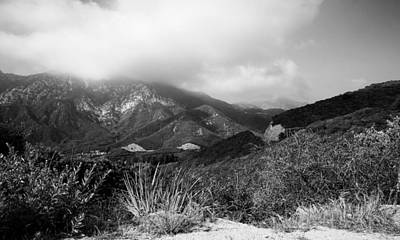 Mountians Photograph - Tujunga Hills  by Gilbert Artiaga
