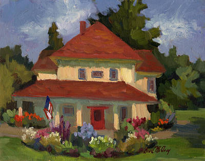 Painting - Tukwilla Farm House by Diane McClary