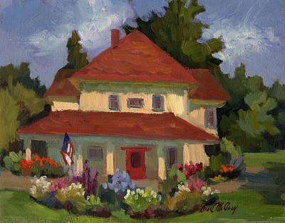 Tukwilla Farm House Original by Diane McClary
