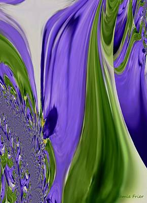 Digital Art - Tulip Abstract by Jamie Frier