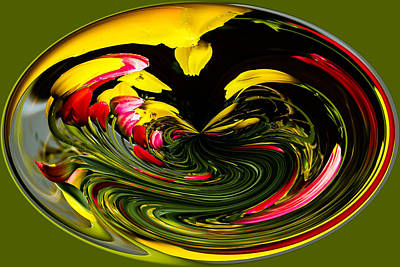 Photograph - Tulip Abstract by Ron Roberts