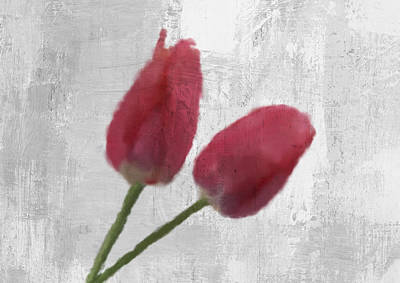 Tulips Watercolor Wall Art - Digital Art - Tulip by Aged Pixel