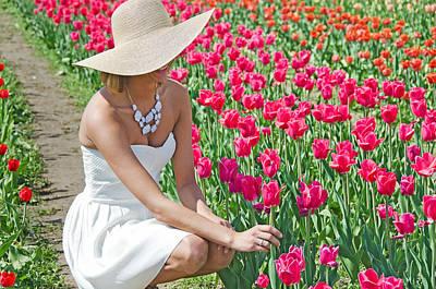 Tulip Beauty Art Print by Maria Dryfhout