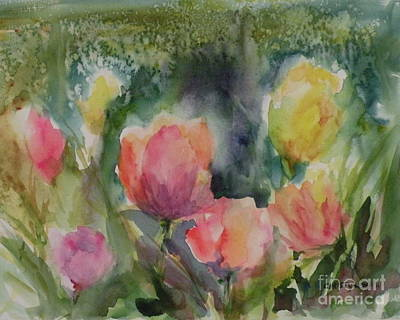 Painting - Tulip Dreams by Christy Lemp