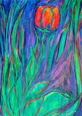 Painting - Tulip Flow by Kendall Kessler