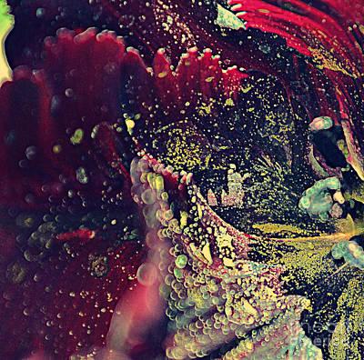 Photograph - Tulip Heart I by Diane montana Jansson