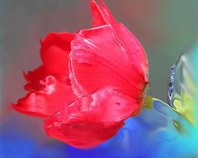 Tulip Art Print by Kume Bryant