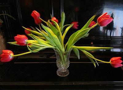 Tulip Mania Photograph - Tulip Mania 18 by Rosita Larsson
