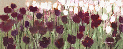 Painting - Tulip Riot Il by J Reifsnyder