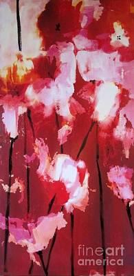 Painting - Tulip Twist by Sandra Strohschein