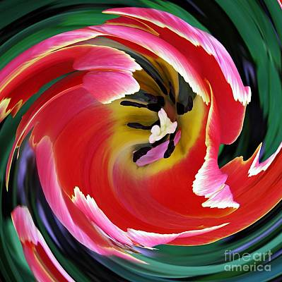 Photograph - Tulip Twist by Sarah Loft