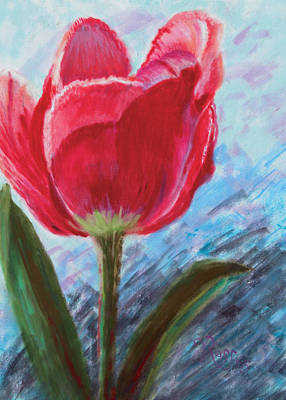Painting - Tulip by Vicki Ross