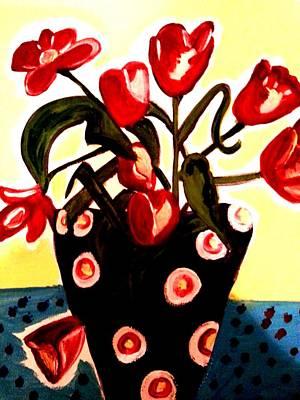 Painting - Tulips 1 by Nikki Dalton