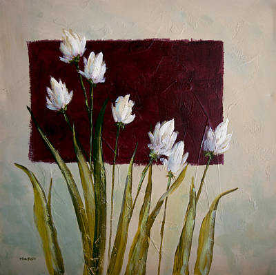 Painting - Tulips by Bob Pennycook