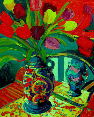 Painting - Tulips by Brian Simons