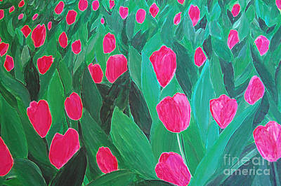 Painting - Tulips By Jrr by First Star Art