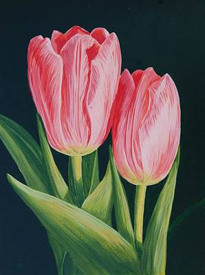 Painting - Tulips by Cheryl Fecht