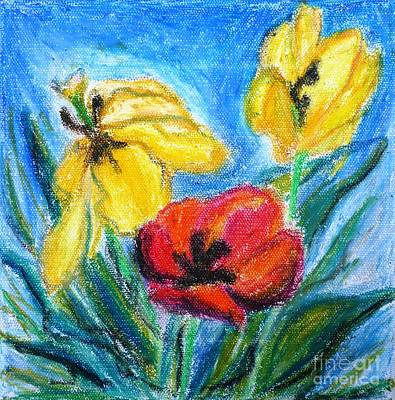 Painting - Tulips by Cristina Stefan