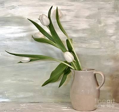 Tulips Dancing Art Print