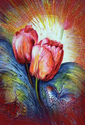 Tulips Art Print by Harsh Malik