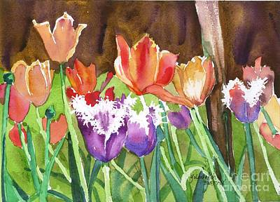 Painting - Tulips In Spring by Yolanda Koh