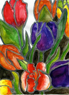 Painting - Tulips by Katie Sasser