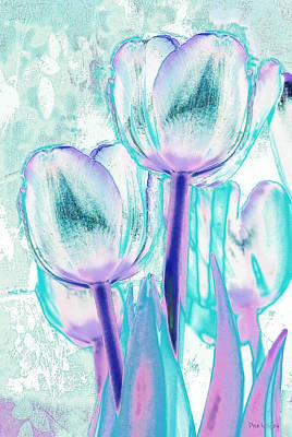 Photograph - Tulips Of A Different Color by Dyle   Warren