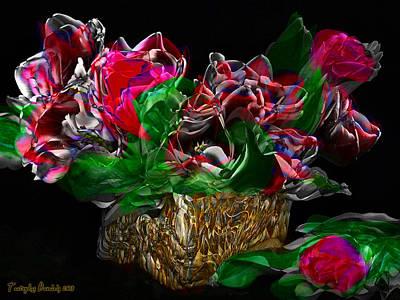 Tulips Valentine's Day. 2013 80/60 Cm.  Original