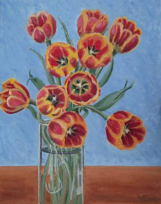 Painting - Tulips by Vera  Smith