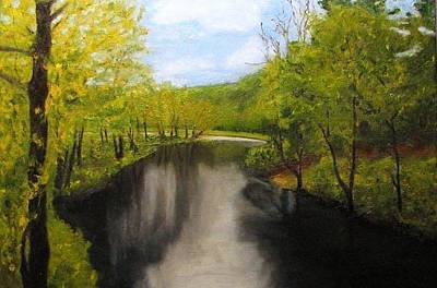 Painting - Tully River by Michael Saunders