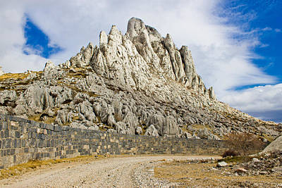 Photograph - Tulove Grede Rocks On Velebit Mountain by Brch Photography