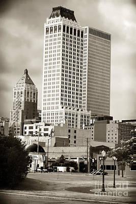 Tulsa Oklahoma. Architecture Photograph - Tulsa by John Rizzuto