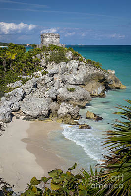 Photograph - Tulum - Mayan Temple by Brian Jannsen