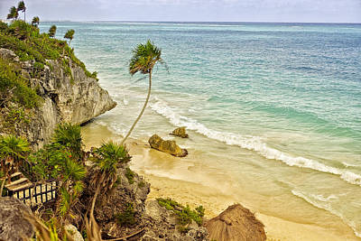 Tulum Beach Art Print