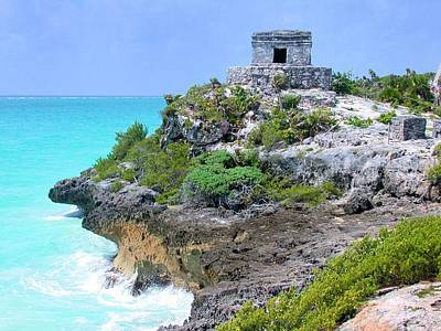 Photograph - Tulum Mexico by Jane Girardot