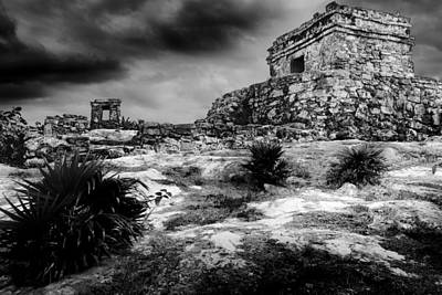 Cancun Photograph - Tulum Ruin by Julian Cook