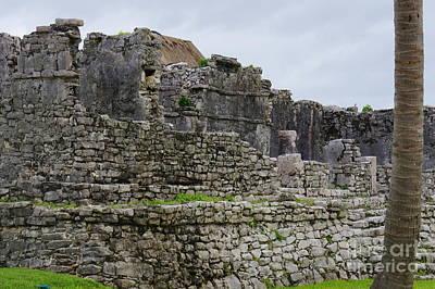 Photograph - Tulum Ruins 11 by Rachel Munoz Striggow