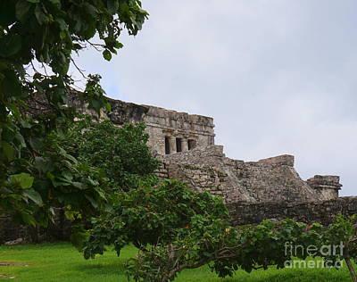 Photograph - Tulum Ruins 12 by Rachel Munoz Striggow