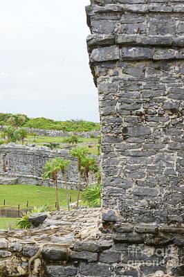 Photograph - Tulum Ruins 4 by Rachel Munoz Striggow
